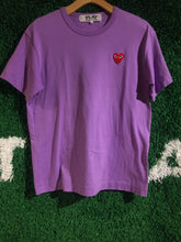 Load image into Gallery viewer, CDG Small Heart Logo Shirt