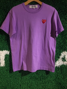 CDG Small Heart Logo Shirt