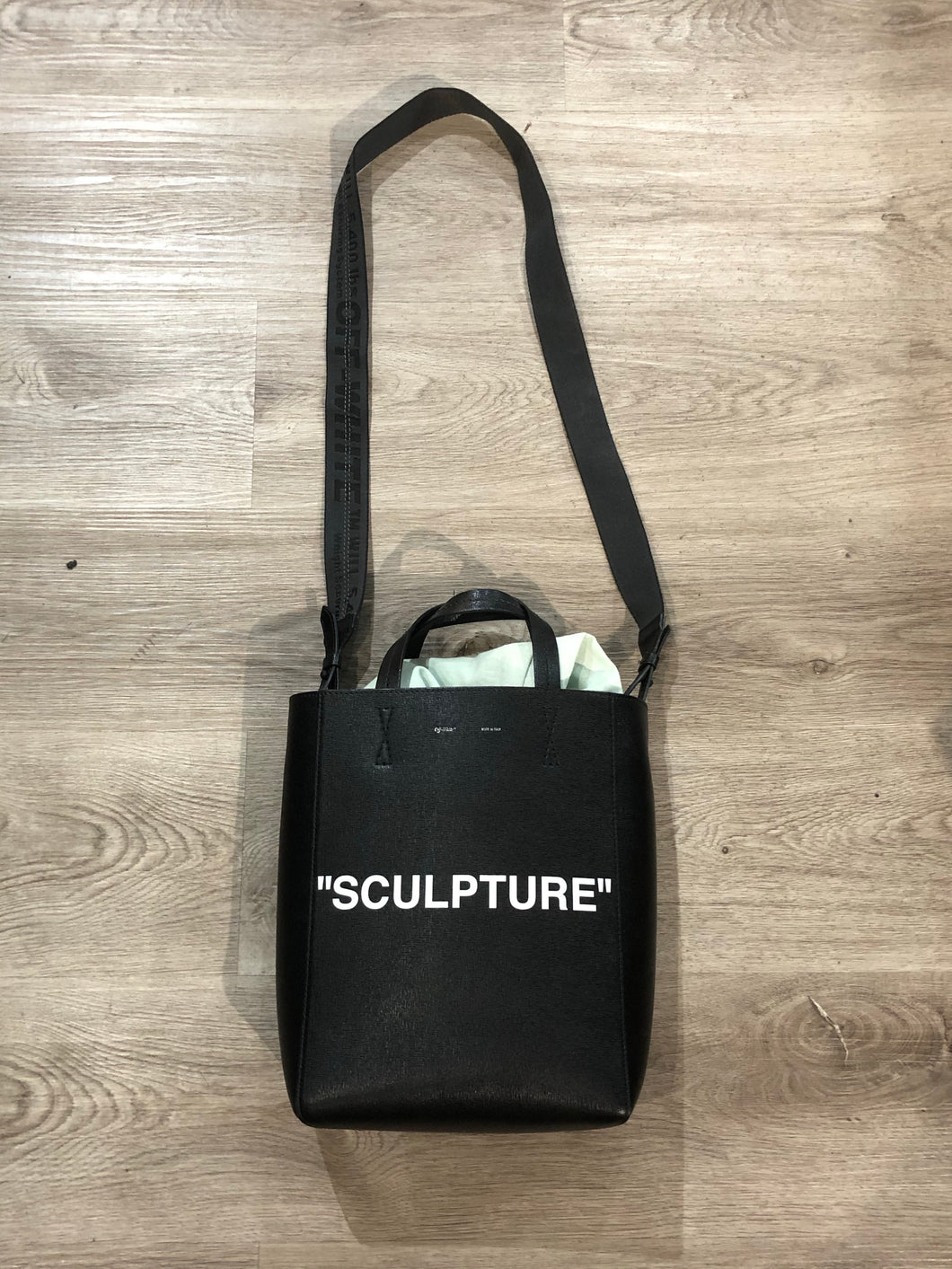 Off White Sculpture Bag