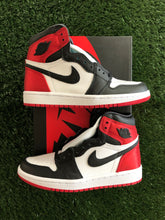 Load image into Gallery viewer, Jordan 1 Retro Satin Black Toe