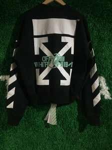 Off White Waterfall Crewneck