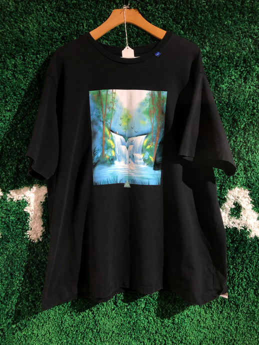 Off White Waterfall Shirt