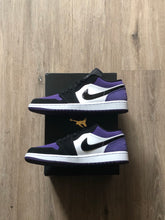 Load image into Gallery viewer, Jordan 1 Retro Low Court Purple