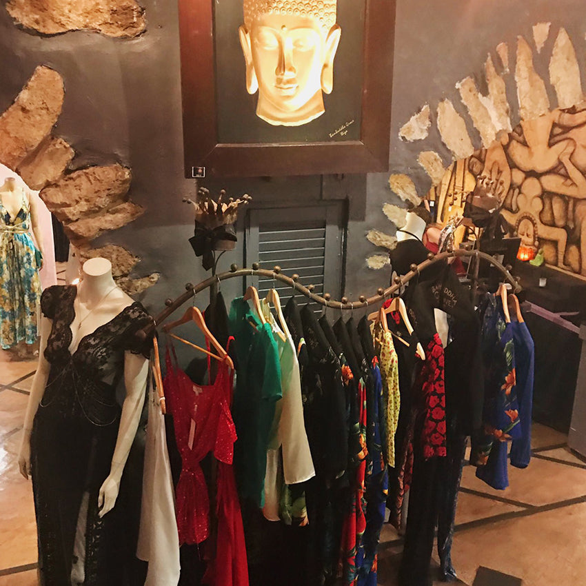 clothing rail selling Dancing Leopard in Bambuddah