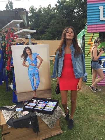 Sarah Qaisar at Lovebox