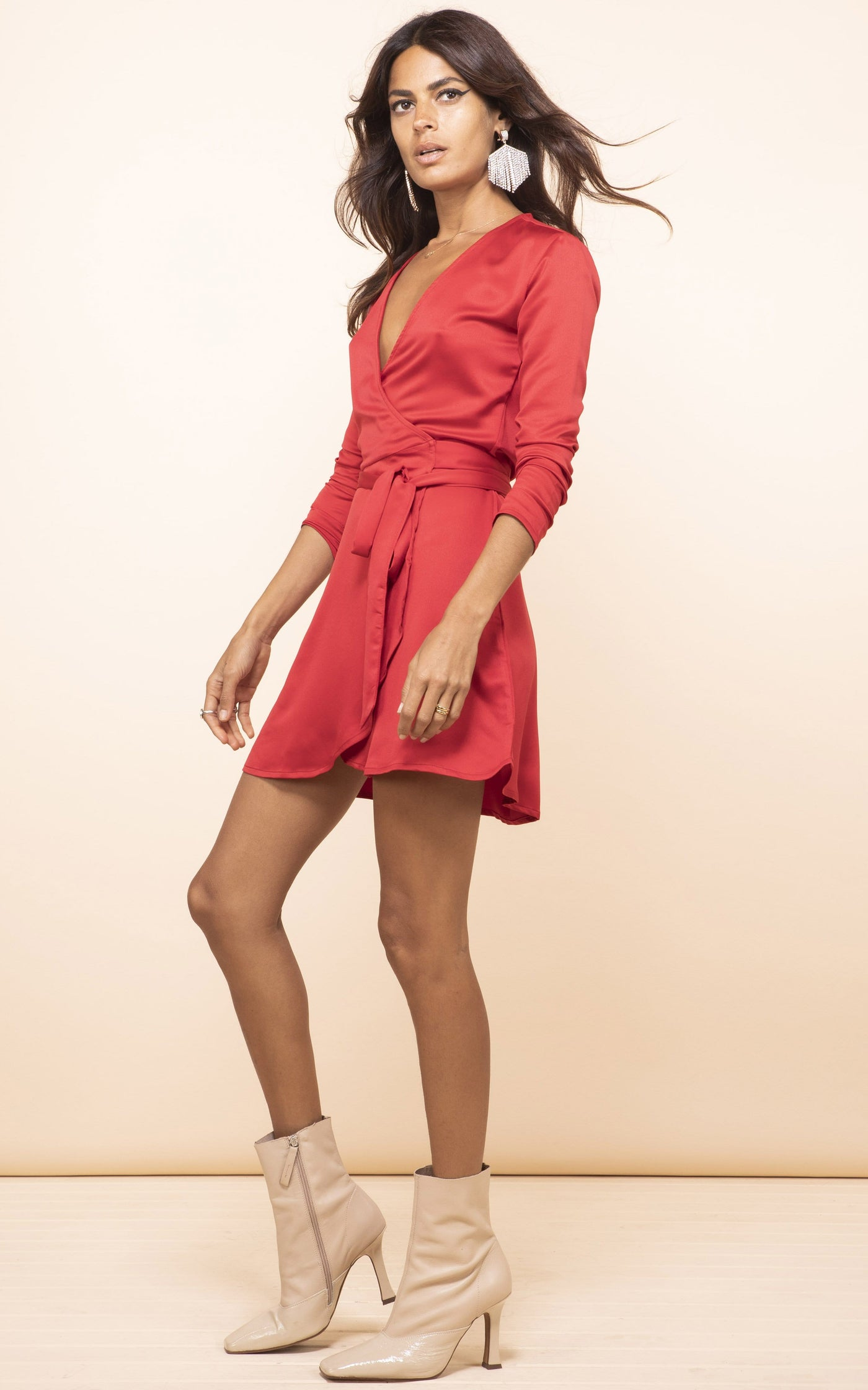 Marley Mini Dress In Red