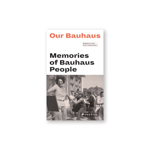 White book cover with red and black title information above a sepia toned photograph of figures playfully interacting at an outdoor gathering