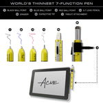 GRAPH Seven Function Pen