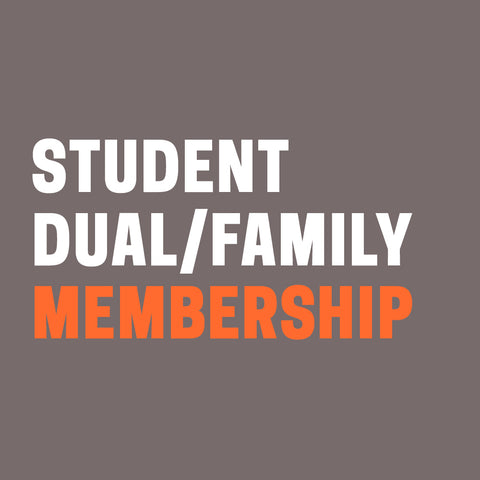 Student Dual or Family Membership