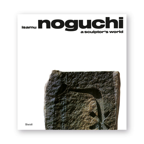 White book cover with stone form with rough surface but carved pockets in modernist forms. Title information in black wide lowercase sans serif font at top leaving negative space in the middle