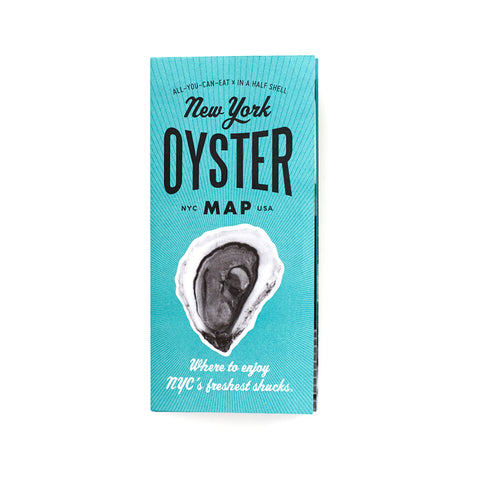 New York Oyster Map