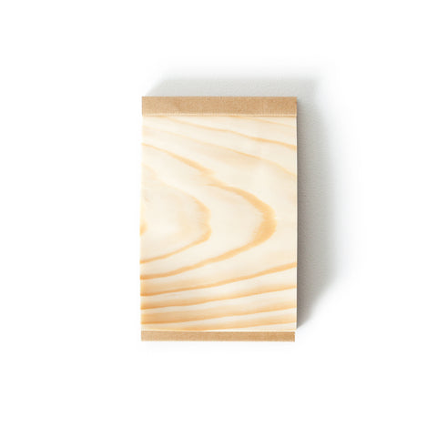 Kizara Wood Sheet Memo Pad Medium
