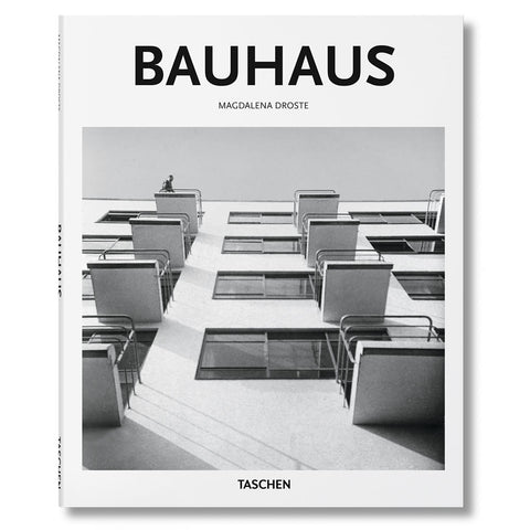 White book cover with black and white photograph of a building with a grid of windows asymmetrically adjoined with small balconies. A single figure sits at the top left balcony shown. Title above in black sans serif letters.