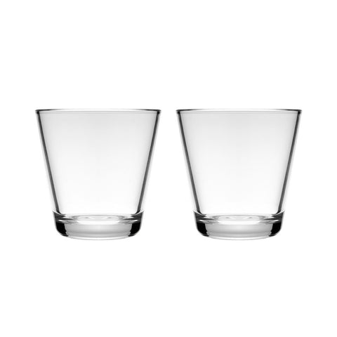 Kartio Small Tumbler, Set of 2 Durable enough for everyday while the simple design fits any table.