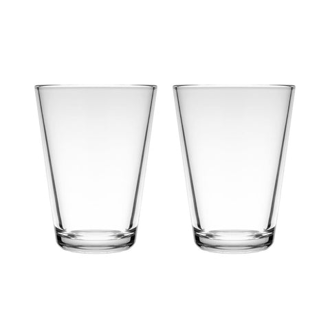 Kartio Large Tumbler, Set of 2 Durable enough for everyday while the simple design fits any table. The larger 40cl size allows for a generous serving.