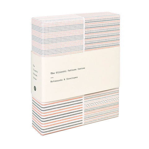 Olivetti Pattern Series Notecards