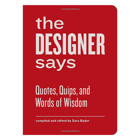 Red book cover with curved edges and bold sans serif title dominating cover space
