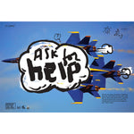 "James Victore ""Ask for Help"" Poster"