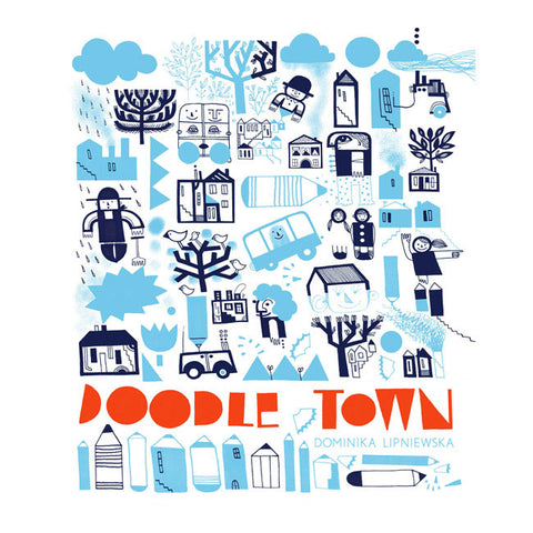Doodle Town Activity Book