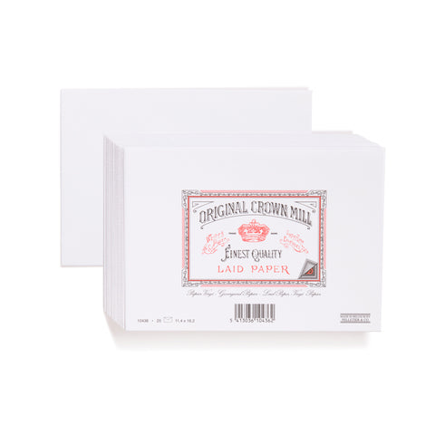 Original Crown Mill Laid Lined Envelopes