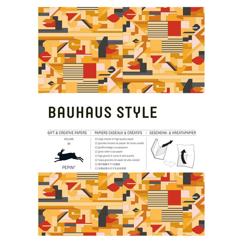 Bauhaus Style Gift and Creative Paper Book