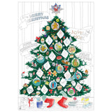 Christmas Tree Folded Poster
