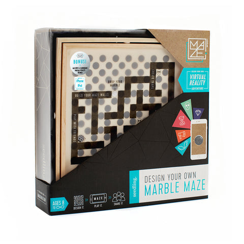 DIY Virtual Reality Marble Maze