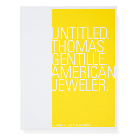 White book cover with white title in large yellow block