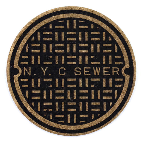 NYC Sewer Trivet