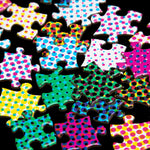 1000 Halftone Colors Puzzle