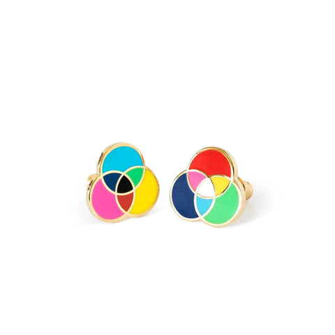 RGB & CMYK Earrings
