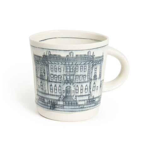 Mansion Drawing Mug