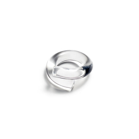 Clear acrylic transparent ring
