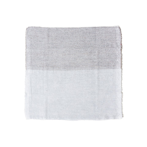 Two-toned square towel