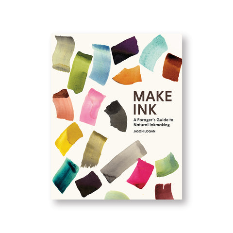White book cover with watercolor swatches in many shades
