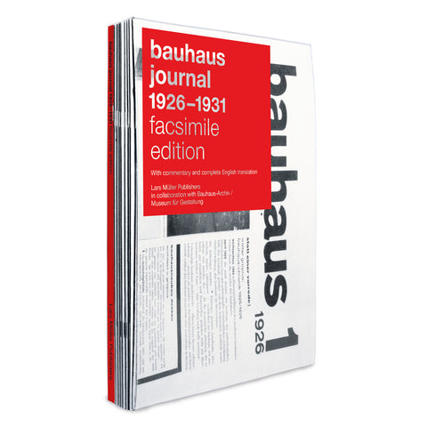Bauhaus Journal 1926-1931