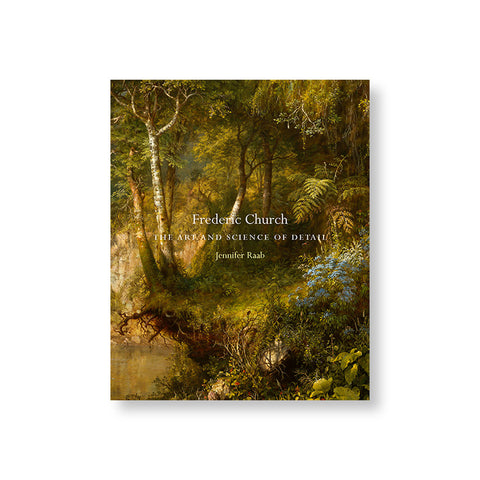 Book cover featuring oil painting of a lush forest scene with eroded soil, visible roots, wild flowers vines and different trees. Title overlaid in white serif font