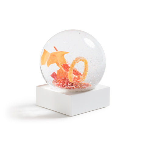 Limited Edition Beach Plastics Snow Globe