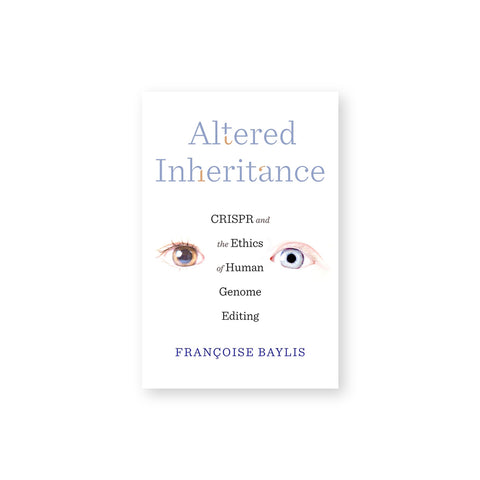 White book cover with two unmatching eyes and title in multicolored font