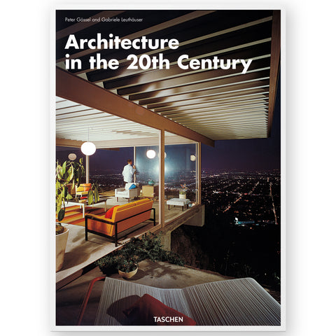 Book cover featuring a partial view of a well lit interior to a modern glass house, located on the edge of a cliff, overlooking the night sky and lights of a city in the distance.