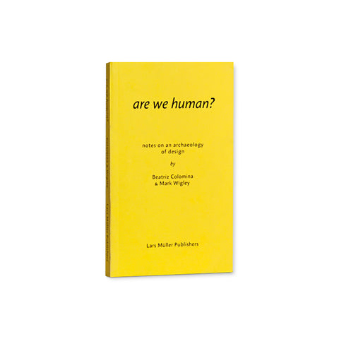Bright yellow book cover with title in italicized lowercase san serif font. Subtitle, author, and publisher information in smaller lowercase font below.