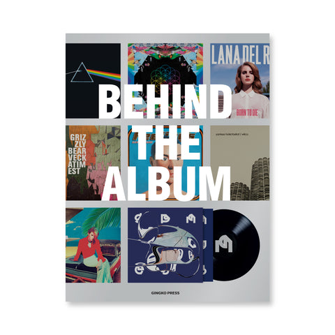 Book cover featuring images of popular album covers from the past two decades.