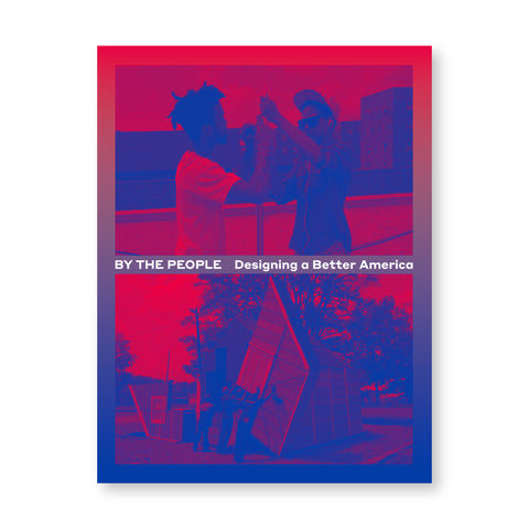 Book cover with images rendered in tones of blue red and purple. Title in white bisects the middle