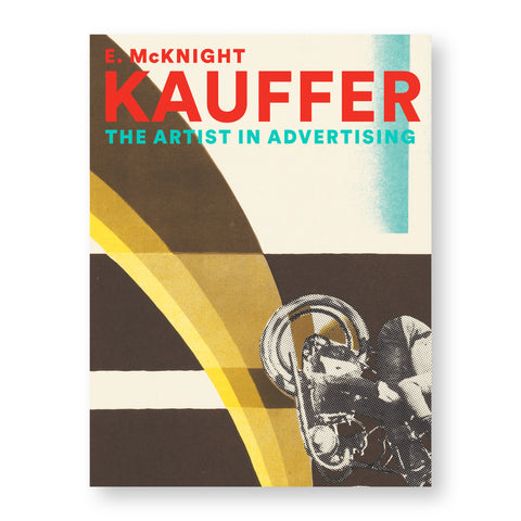 Book cover with poster detail showing arching brown and yellow fields leading to a black and white image of a figure on wheeled contraption partially obscured in the bottom right. Title above in red and light blue bold sans serif letters