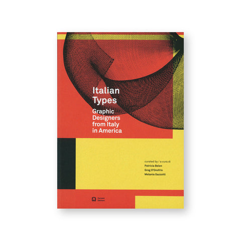Book cover features three rectangles in red and black colors over a yellow background. A rounded fold of black mesh material is visible on the top. The title and subtitle in white bold font are placed at the center closer to the left.