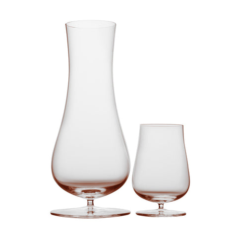 Josephine Decanter and Tumbler, Rosalin