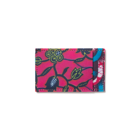 Wax Prints Card Holder