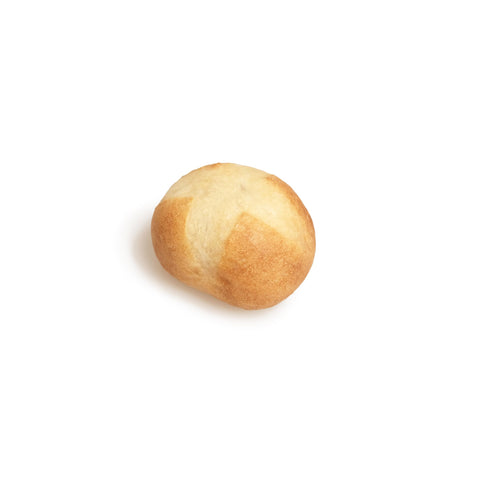 Small, round, fake piece of bread—a petit boule.