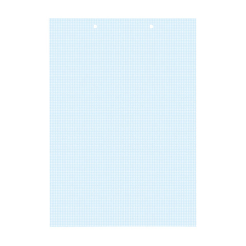 Letter-sized 1x1mm blue graph paper