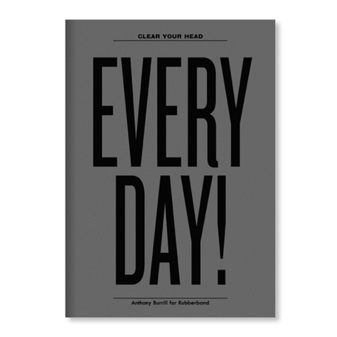 Clear Your Head Every Day! Notebook
